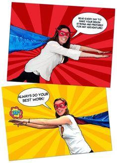 "Crafty Texas Girls: ""Super Hero"" Teacher Appreciation Week"