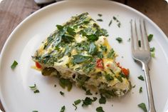 Check out this delicious recipe from Almond Breeze. Get this and many more delicious recipes here: http://www.almondbreeze.com/recipes/crustless-quiche-with-spring-vegetables/
