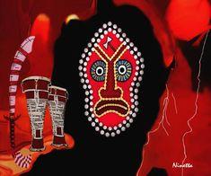 Yoruba Collection Shango Digital Art  - Yoruba Collection Shango Fine Art Print