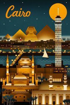 Cairo ~ Lantern Press