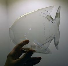 FISH CRAFT IN BOTTLE | cut out a load of construction paper into scale shapes and the kids ...