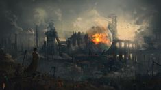 Glimpse of tomorrow by Ismail Inceoglu | Sci-Fi | 2D | CGSociety