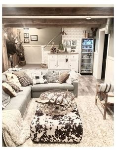 Small Basement Apartments, Basement Living Rooms, Small Basement Bedroom, Basement Apartment Decor, Cozy Basement, Basement Makeover, Basement Ideas, Basement Decorating Ideas, Basement Ceilings