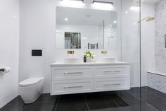 The Block 2016 - Week 3 Main Bathroom Reveals - Katrina Chambers