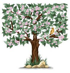 Tree vector 973309 - by Pazhyna on VectorStock®