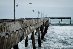 """Pacifica Pier #3-4150″ ©Bruce Spencer 2016"