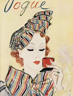 Couverture Vogue octobre 1935