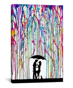 Two Step Wrapped Canvas | zulily