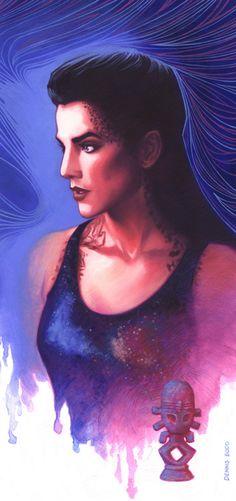 Jadzia Dax (blue)