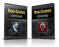 alliance leveling guide and horde leveling guide dvd cover