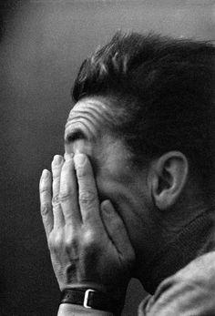 Erich Lessing  -  Herbert von Karajan, Berlin. 1957.