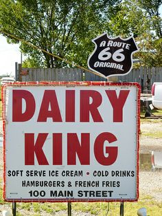 Dairy King, Route 66 - Commerce, Oklahoma