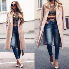 How to Chic: GET THE LOOK - CAMEL COAT