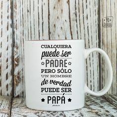 Taza para hombre que son papás. #yoqueribatazas