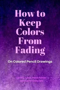 Color Pencil Drawing Tutorial - Three common reasons why your colored pencil drawings might fade and tips on how to keep colors from fading during and after drawing. Pencil Drawing Tutorials, Drawing Tips, Pencil Drawings, Drawing Techniques, Drawing Ideas, Rose Drawings, Drawing Designs, Drawing Art, Art Tutorials
