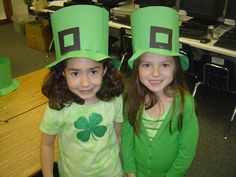 Cute hats! Mrs. T's First Grade Class: St. Patrick's Day