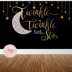 Welcome to Peony & Blush Designs! A custom stationary shop for all of your event needs. This listing is for a Printable Twinkle Twinkle birthday/ baby shower sweet/buffet table backdrop high-resolution graphic file which can be customized to your sizing needs. Please note NO