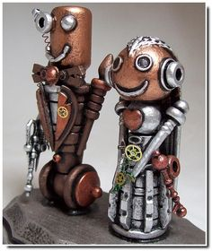 Steampunk Cake Topper! SO CUUUUUTE~