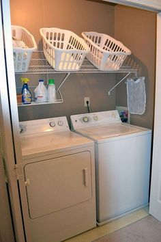 """Explore our internet site for additional relevant information on """"laundry room storage diy shelves"""". It is actually an excellent place to learn more. Laundry Closet, Small Laundry Rooms, Laundry Room Organization, Laundry Room Design, Small Bathroom, Organization Ideas, Bathroom Storage, Bathroom Ideas, Farmhouse Laundry Room"""