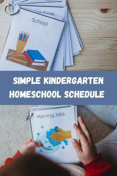 5 Steps To Create A Simple Kindergarten Homeschool Schedule