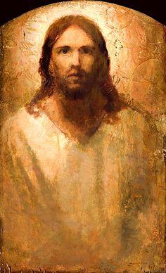 Christ Portrait - J Kirk Richards Catholic Art, Religious Art, Christian Artwork, Jesus Face, Prophetic Art, In Christ Alone, Jesus Pictures, Sacred Art, Jesus Loves Us