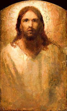 Christ Portrait by J. Kirk Richards