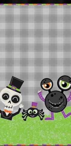 Halo Halloween, Halloween Horror, Cute Halloween, Holiday Wallpaper, Halloween Wallpaper, Cute Wallpapers, Wallpaper Backgrounds, Photo Backgrounds, Iphone Wallpapers