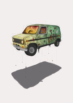 ah.... gogh's van??