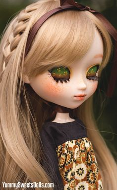 OOAK Sunflower Seed Crumble Full Custom Pullip by YummySweetsDolls
