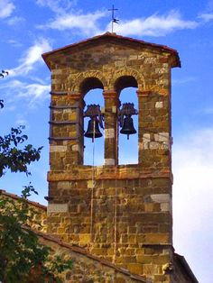 One of many beautiful churches in the village #montalcino