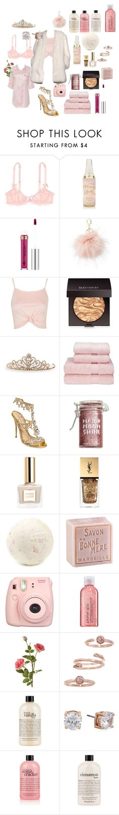 """pink lazy day idk"" by alcaddict ❤ liked on Polyvore featuring beauty, L'Agent By Agent Provocateur, Anastasia Beverly Hills, Charlotte Russe, Topshop, Laura Mercier, BillyTheTree, Christy, Marchesa and Major Moonshine"