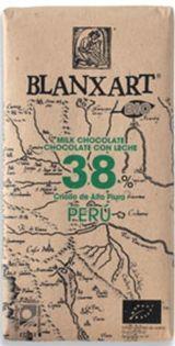 Blanxart 125g. Ciocolata organica, cu lapte, 38% cacao Peru. BIO Peru, Agriculture, Turkey