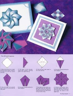 Origami by Olívia: Mandalas com diagrama!