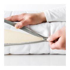 MALFORS Materasso in schiuma - 90x200 cm, rigido/bianco - IKEA