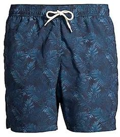 cd1c4f7ac5b Barbour Men's Swim Shop Tailored-Fit Mid-Rise Tropical Swim Shorts