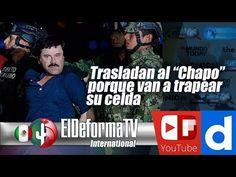 """15 Trasladan al """"Chapo"""" porque van a trapear su celda"""