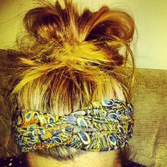 Head scarves and messy buns make my life complete!