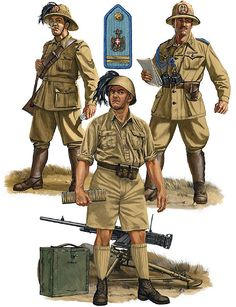 ITALIAN INFANTRY, NORTH AFRICA