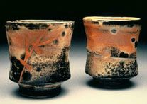 Image detail for -Malcolm Davis pottery in American Master exhibit at MudFire Gallery