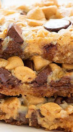 Chocolate Peanut Butter Magic Bars