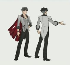 Concept art of Qrow Branwen from the animated web series RWBY. Character Concept, Concept Art, Rwby Cosplay, Cosplay Outfits, Cosplay Ideas, Rwby Qrow, Qrow Branwen, Rwby Characters, Cosplay Characters