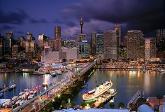Dazzling Darling Harbour by Cameron B  Sydney, New South Wales, AUSTRALIA