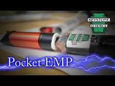 How to Make a Handheld EMP Jammer - YouTube