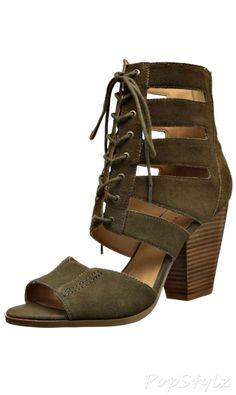 Nine West Highland Suede Leather Dress Sandal