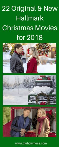 Do you love watching Hallmark Christmas movies to Countdown to Christmas? Check out these original and new Hallmark Christmas movies for