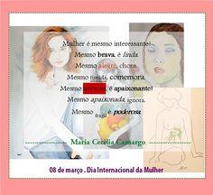 Feliz Dia Internacional das Mulheres para todas as Mulheres!