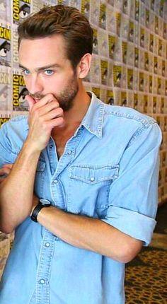 Love Tom in denim.