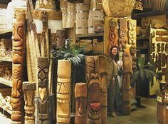 """Oceanic Arts - all things Tiki.  """"Worlds Leading Supplier of Tropical and Polynesian Decor - Since 1956"""""""