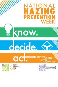 National hazing prevention week essay contest for kids