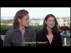 """[SUB ITA] """"Is Sam Heughan Single. Does Caitriona Balfe have a sister?"""" - YouTube"""